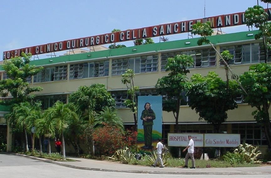 Hospital Celia Sánchez de Manzanillo, centro Covid-19 de Granma